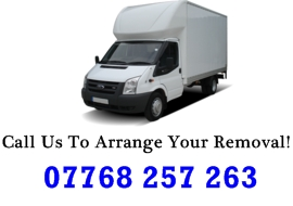 man and van removal London