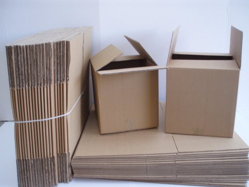For home and office move - flat pack cardboard boxes