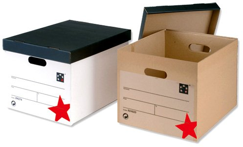 cardboard boxes - storage