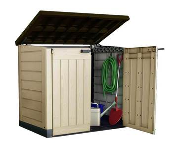 Keter Store It Out Max Outdoor Plastic Garden Storage Box Shed